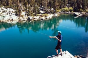 How to fly fish. Fly casting.