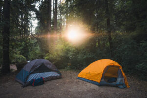 Is it safe camping in a tent?